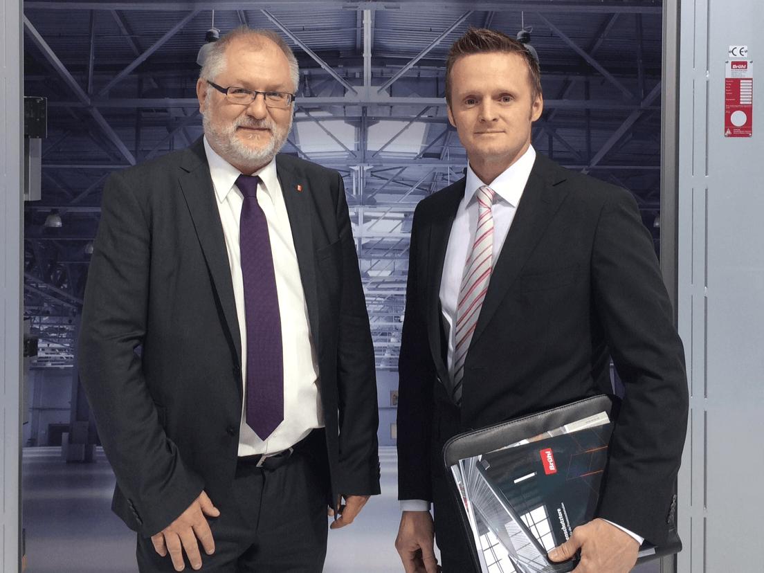 Markus Portuné zusammen mit Hans-Georg Brühl
