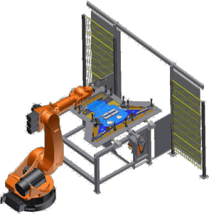 Roboterzelle PES Portuné